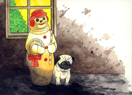 Christmaspug